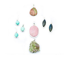 Canadian Gemstone and Silver Pendants, Earrings and Rings